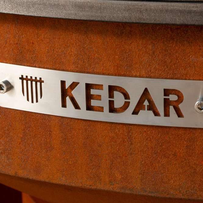 Cortenový zahradní gril Kedar