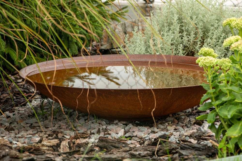 Mísa Corten - vodní prvek do zahrady