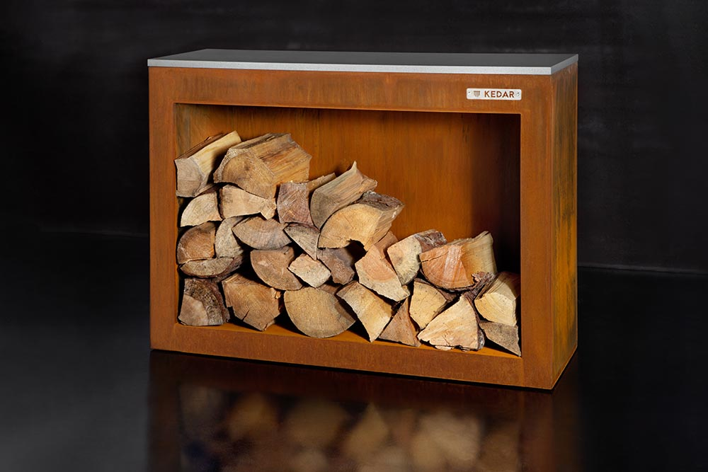 Skříň na dřevo KEDAR Kulina