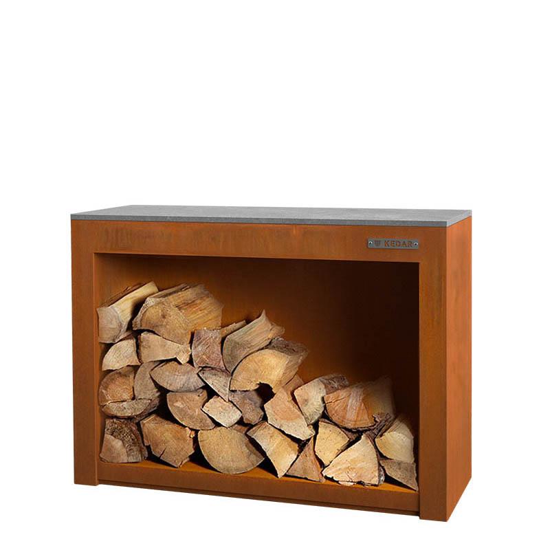 KEDAR Kulina - skříň na dřevo